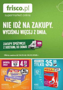 Gazetka promocyjna Frisco, ważna od 26.01.2018 do 06.02.2018.