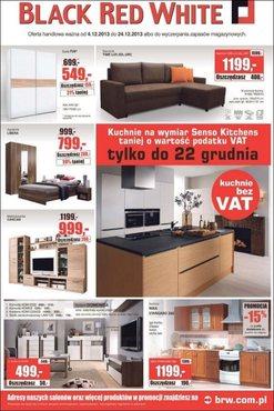 Gazetka promocyjna Black Red White, ważna od 04.12.2013 do 24.12.2013.
