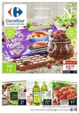 Gazetka promocyjna Carrefour, ważna od 24.01.2018 do 05.02.2018.