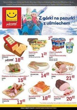 Gazetka promocyjna Uśmiechnięte zakupy, ważna od 23.01.2018 do 05.02.2018.