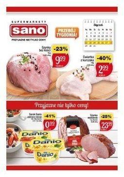 Gazetka promocyjna Sano, ważna od 22.01.2018 do 28.01.2018.