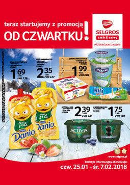 Gazetka promocyjna Selgros Cash&Carry, ważna od 27.01.2018 do 07.02.2018.
