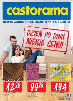 Gazetka promocyjna Castorama, ważna od 25.10.2012 do 11.11.2012.
