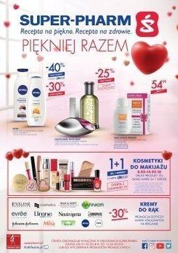 Gazetka promocyjna Super-Pharm, ważna od 01.02.2018 do 14.02.2018.
