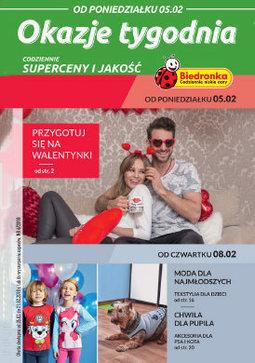 Gazetka promocyjna Biedronka, ważna od 05.02.2018 do 21.02.2018.