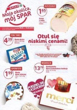 Gazetka promocyjna Spar, ważna od 08.02.2018 do 18.02.2018.