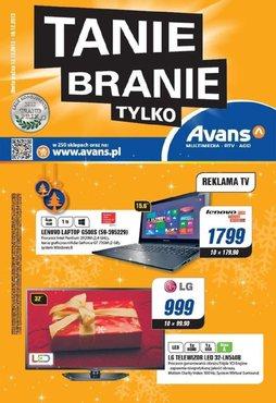 Gazetka promocyjna Avans, ważna od 12.12.2013 do 18.12.2013.