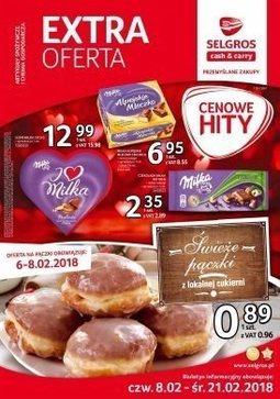 Gazetka promocyjna Selgros Cash&Carry, ważna od 08.02.2018 do 21.02.2018.
