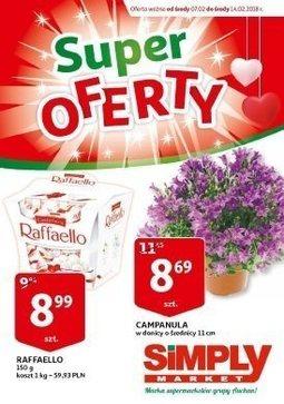 Gazetka promocyjna Simply Market, ważna od 07.02.2018 do 14.02.2018.