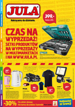 Gazetka promocyjna Jula, ważna od 07.02.2018 do 07.03.2018.