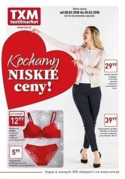 Gazetka promocyjna Textil Market, ważna od 08.02.2018 do 20.02.2018.