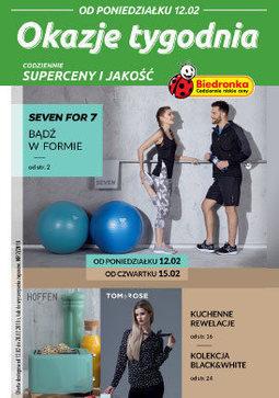 Gazetka promocyjna Biedronka, ważna od 12.02.2018 do 28.02.2018.