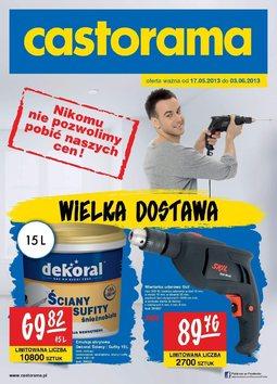 Gazetka promocyjna Castorama, ważna od 17.07.2013 do 03.06.2013.