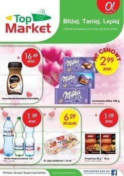 Gazetka promocyjna Top Market, ważna od 12.02.2018 do 18.02.2018.