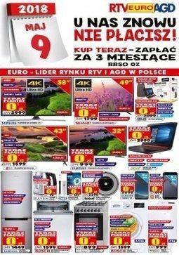 Gazetka promocyjna RTV Euro AGD, ważna od 09.02.2018 do 01.03.2018.
