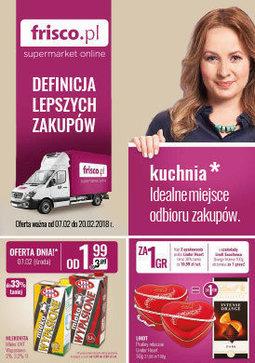 Gazetka promocyjna Frisco, ważna od 07.02.2018 do 20.02.2018.