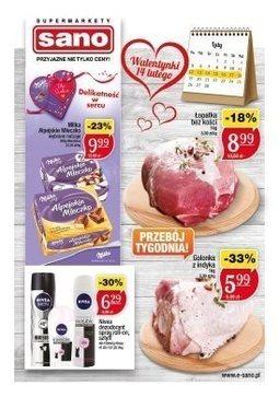 Gazetka promocyjna Sano, ważna od 12.02.2018 do 18.02.2018.