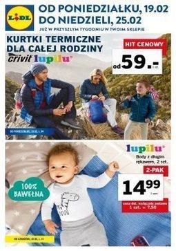 Gazetka promocyjna Lidl, ważna od 19.02.2018 do 25.02.2018.