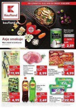 Gazetka promocyjna Kaufland, ważna od 15.02.2018 do 21.02.2018.