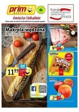 Gazetka promocyjna Prim Market, ważna od 15.02.2018 do 21.02.2018.