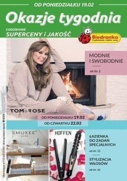 Gazetka promocyjna Biedronka, ważna od 19.02.2018 do 07.03.2018.