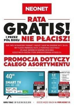Gazetka promocyjna Neonet, ważna od 15.02.2018 do 28.02.2018.