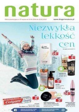 Gazetka promocyjna Drogerie Natura, ważna od 15.02.2018 do 28.02.2018.