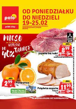 Gazetka promocyjna POLOmarket, ważna od 19.02.2018 do 25.02.2018.