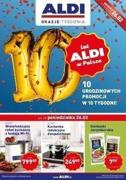 Gazetka promocyjna Aldi, ważna od 26.02.2018 do 04.03.2018.