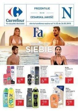 Gazetka promocyjna Carrefour, ważna od 14.02.2018 do 26.02.2018.