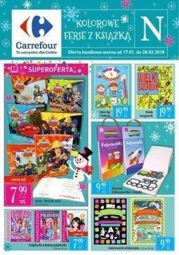 Gazetka promocyjna Carrefour, ważna od 17.01.2018 do 01.03.2018.