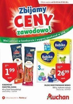 Gazetka promocyjna Auchan, ważna od 22.02.2018 do 27.02.2018.