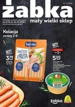 Gazetka promocyjna Żabka, ważna od 21.02.2018 do 06.03.2018.
