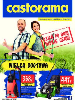 Gazetka promocyjna Castorama, ważna od 01.03.2013 do 17.03.2013.