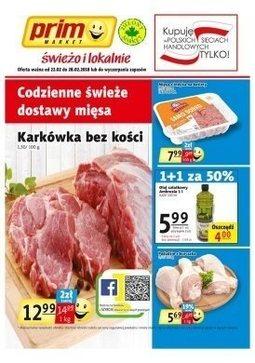 Gazetka promocyjna Prim Market, ważna od 22.02.2018 do 28.02.2018.