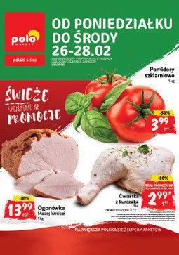 Gazetka promocyjna POLOmarket, ważna od 26.02.2018 do 28.02.2018.