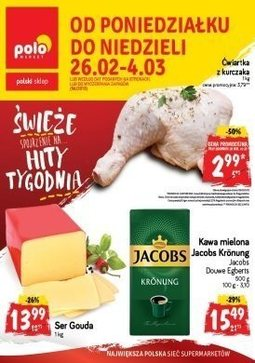 Gazetka promocyjna POLOmarket, ważna od 26.02.2018 do 04.03.2018.