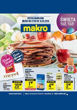 Gazetka promocyjna Makro Cash&Carry, ważna od 27.02.2018 do 12.03.2018.
