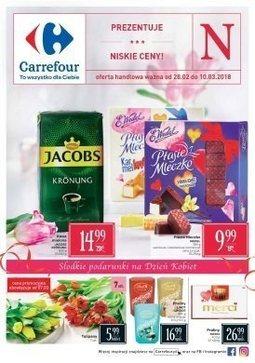 Gazetka promocyjna Carrefour, ważna od 28.02.2018 do 10.03.2018.