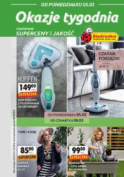 Gazetka promocyjna Biedronka, ważna od 05.03.2018 do 21.03.2018.