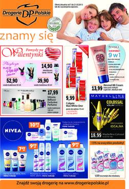 Gazetka promocyjna Drogerie Polskie, ważna od 07.02.2013 do 21.02.2013.