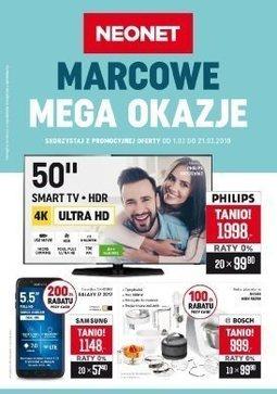 Gazetka promocyjna Neonet, ważna od 01.03.2018 do 21.03.2018.