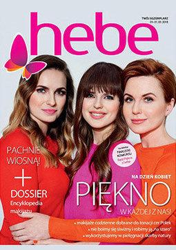 Gazetka promocyjna Hebe, ważna od 01.03.2018 do 31.03.2018.