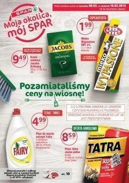 Gazetka promocyjna SPAR, ważna od 08.03.2018 do 18.03.2018.