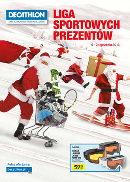 Gazetka promocyjna Decathlon, ważna od 09.12.2013 do 24.12.2013.