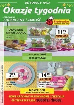 Gazetka promocyjna Biedronka, ważna od 10.03.2018 do 27.03.2018.