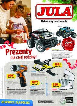 Gazetka promocyjna Jula, ważna od 16.12.2013 do 31.12.2013.
