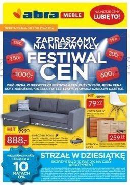 Gazetka promocyjna Abra, ważna od 09.03.2018 do 22.03.2018.