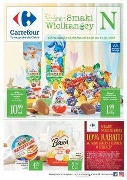 Gazetka promocyjna Carrefour, ważna od 12.03.2018 do 17.03.2018.
