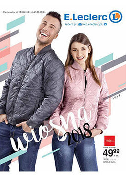 Gazetka promocyjna E.Leclerc, ważna od 13.03.2018 do 25.03.2018.